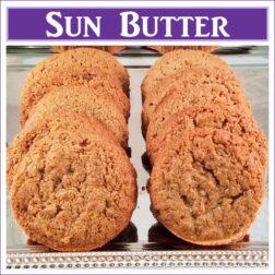 Gluten Free Sun Butter Cookies
