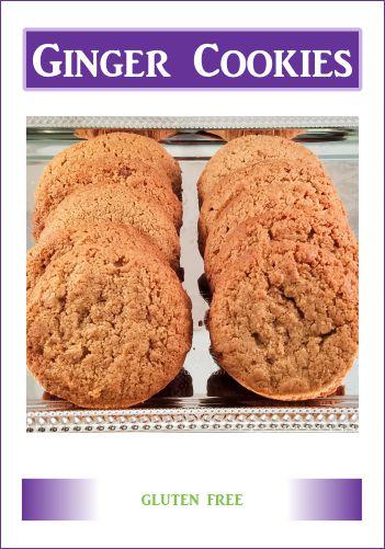 Gluten Free Memphis Ginger Cookies