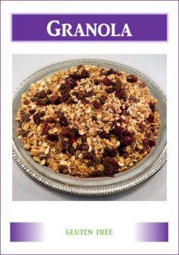 Gluten Free Memphis Granola