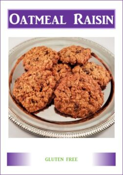 Gluten Free Memphis Oatmeal Raisin Cookies