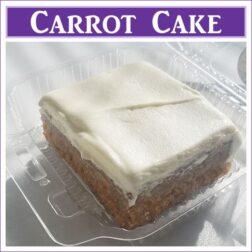 Gluten Free Carrot Cake Slice