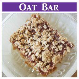 Gluten Free Oat Bar